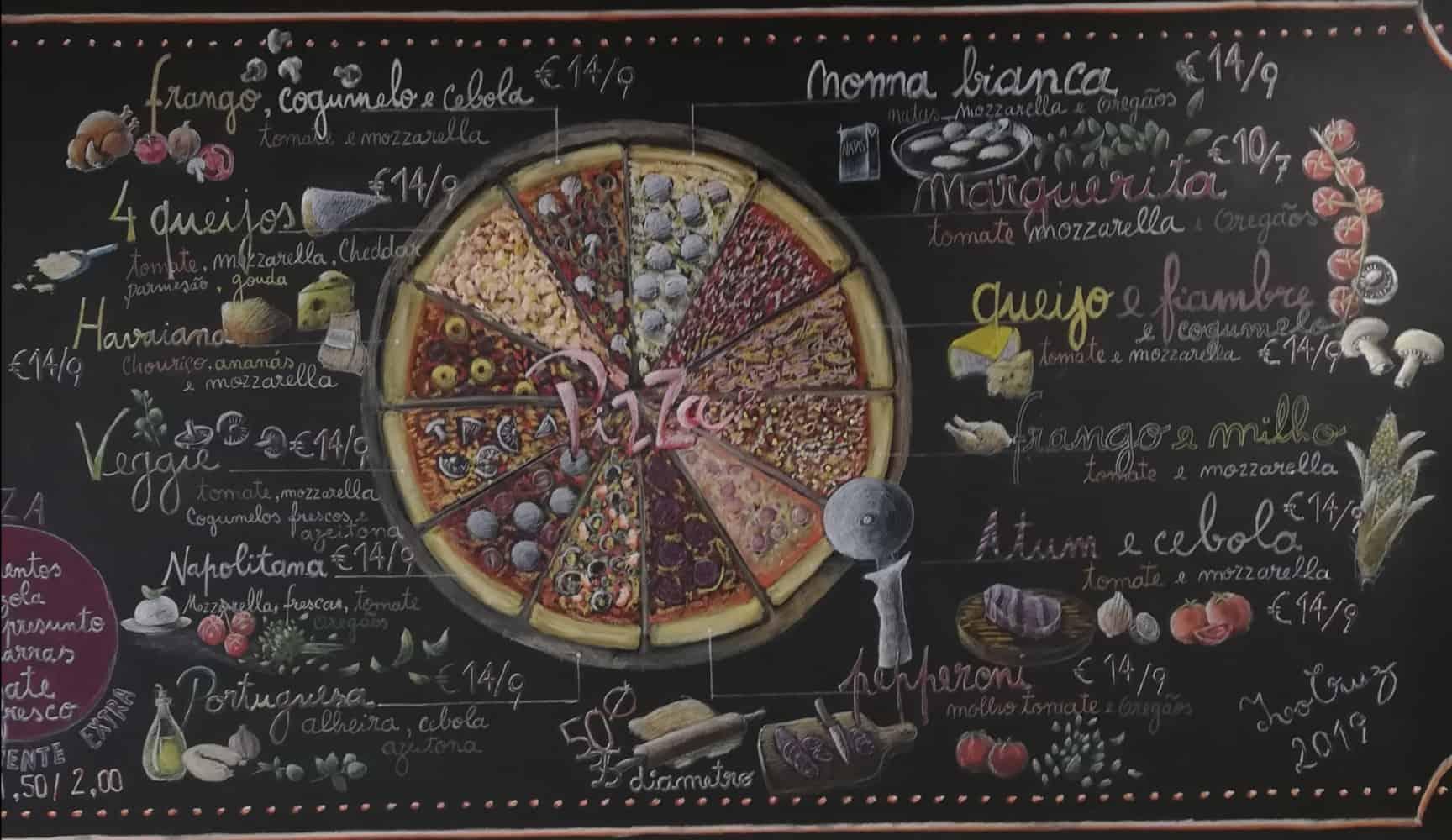 Pizza vegan da Nonna Vespa, Maia