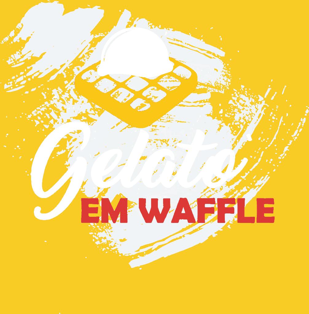 waffle belga icon gelataria nonna vespa na cidade da maia porto portugal